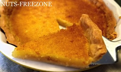 LA MIA TART LEMON CHESS PIE PER IL CLUB DEL 27
